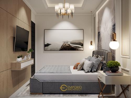 Interior Design Mrs. Diah Classic House 2 Floors Design - Tangerang Selatan, Banten