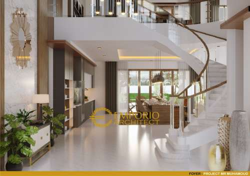 Interior Design Mr. Mohamoud Villa Bali House 2 Floors Design - Tanzania