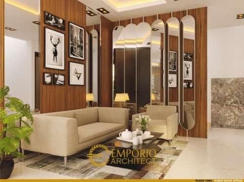 Interior Design Mr. Aprian Modern House 3 Floors Design - Yogyakarta