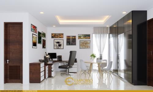 Interior Design Mr. Muhammad Karim Villa Bali House 2 Floors Design - Yogyakarta