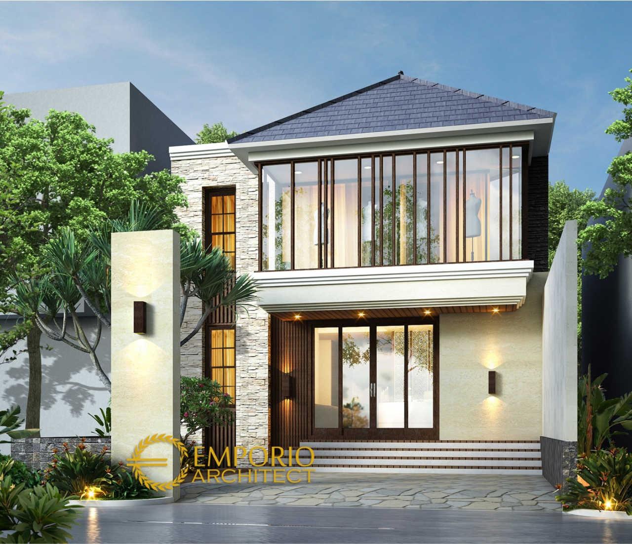 Desain Butik Modern 2 Lantai Ibu Erna di Bandung