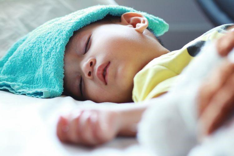 Gambar Anak Kecil Tidur