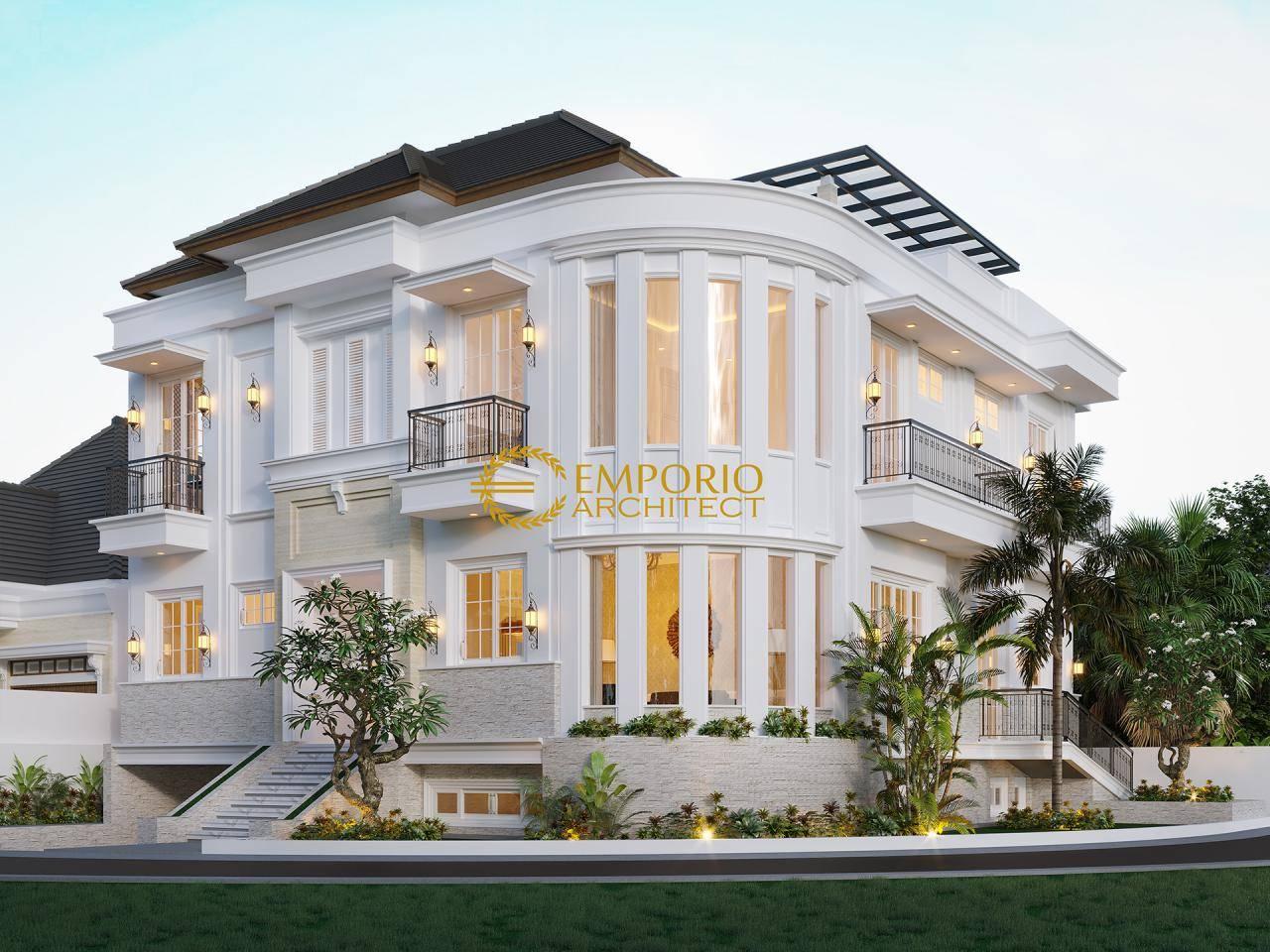 Model Desain Rumah Mewah 3 Lantai