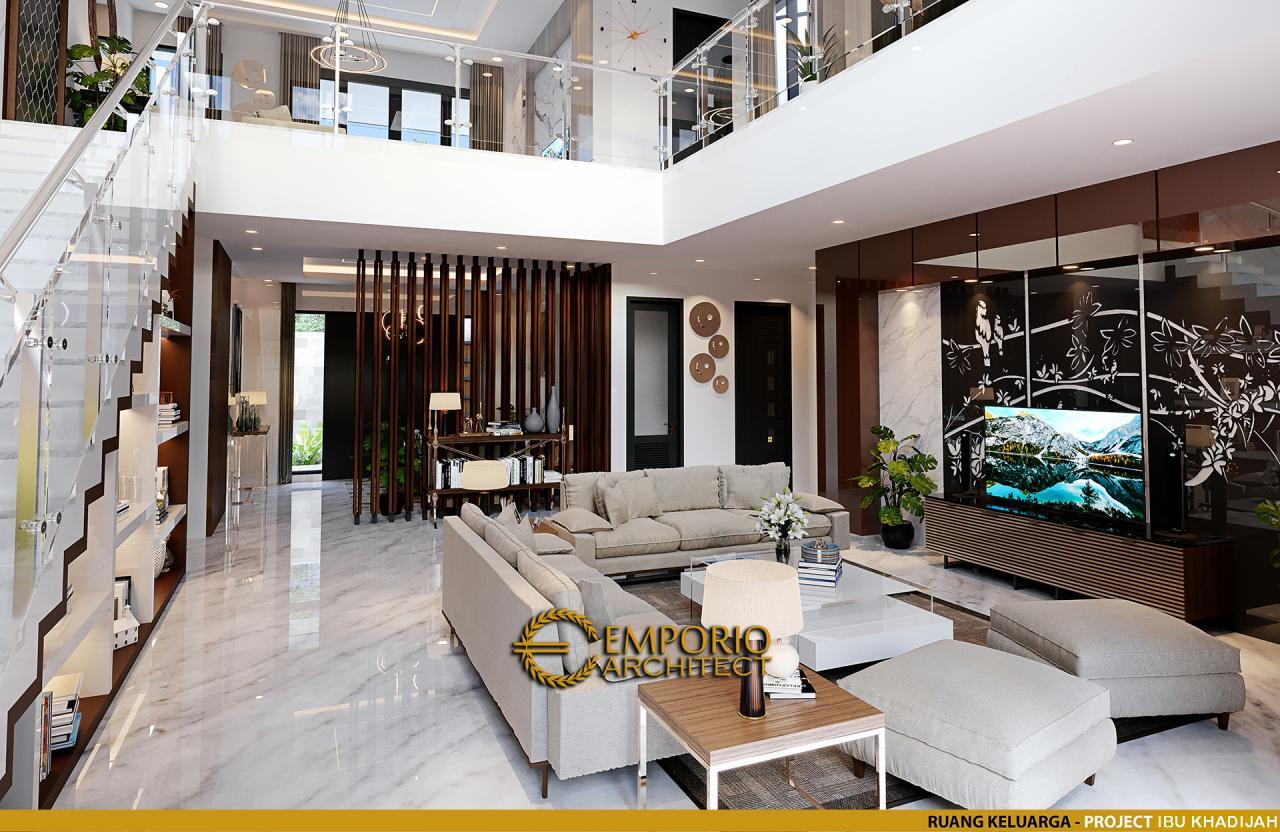 Desain Rumah Modern 2 Lantai Ibu Khadijah di Makassar, Sulawesi Selatan