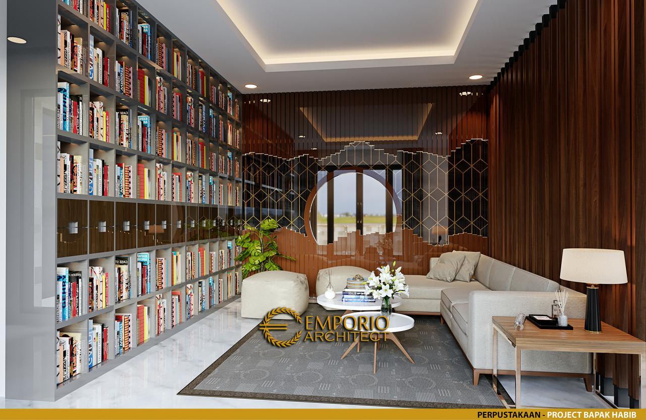 Desain Rumah Modern 2 Lantai Bapak Habib di Makassar, Sulawesi Selatan