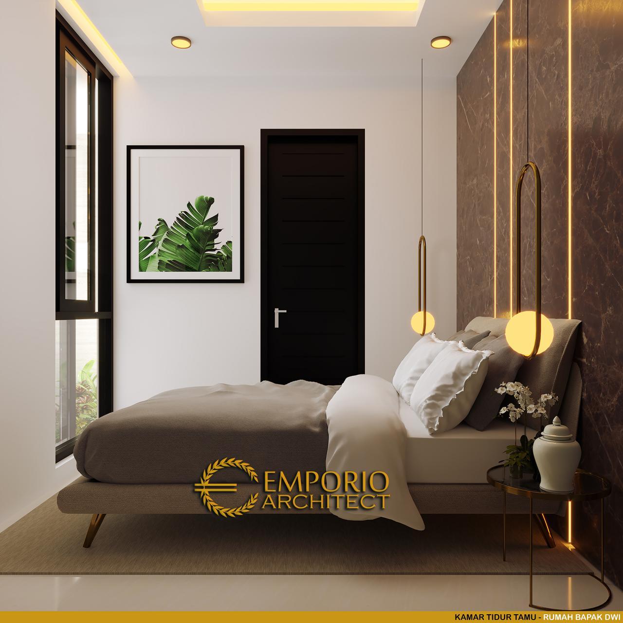 Arsitek Rumah Classic: Desain Rumah Modern Classic 2.5 Lantai Bapak Dwi Di