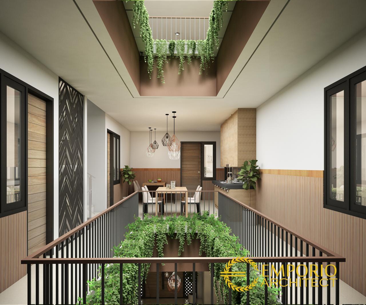 Emporio Arsitek: Desain Kost Modern 3 Lantai Bapak Adi Di Bandung
