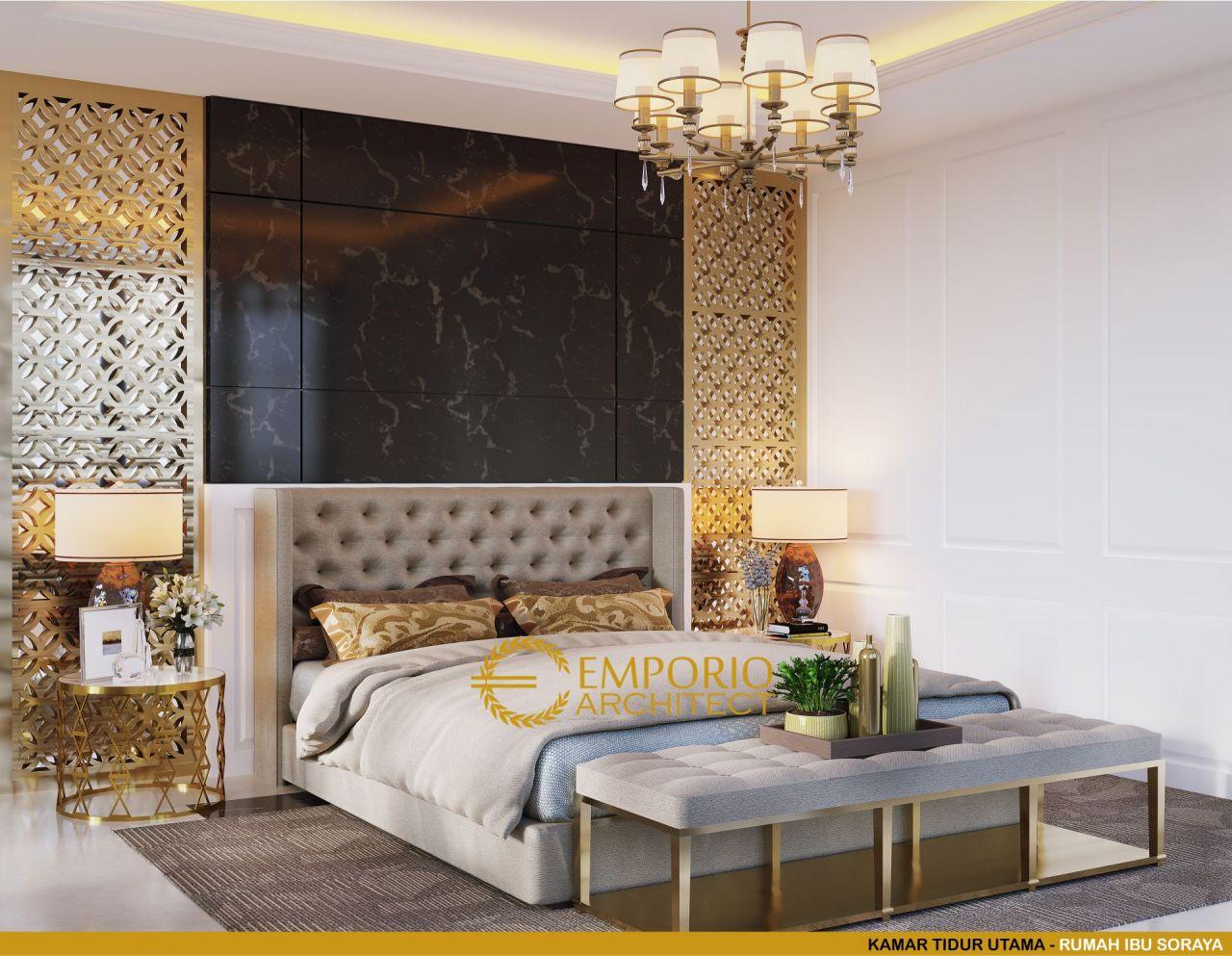 15 Inspirasi Desain Interior Kamar Tidur Bergaya Klasik Part 2