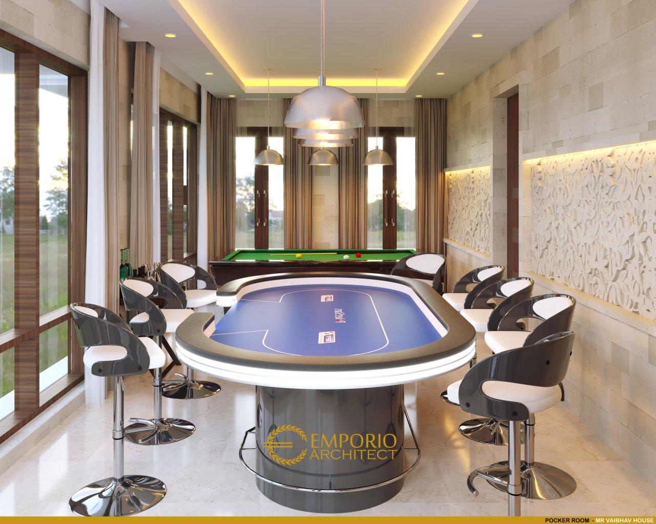 Desain Rumah Villa Bali 2 Lantai Mr. Vaibhav dan Mr. Nilesh di India
