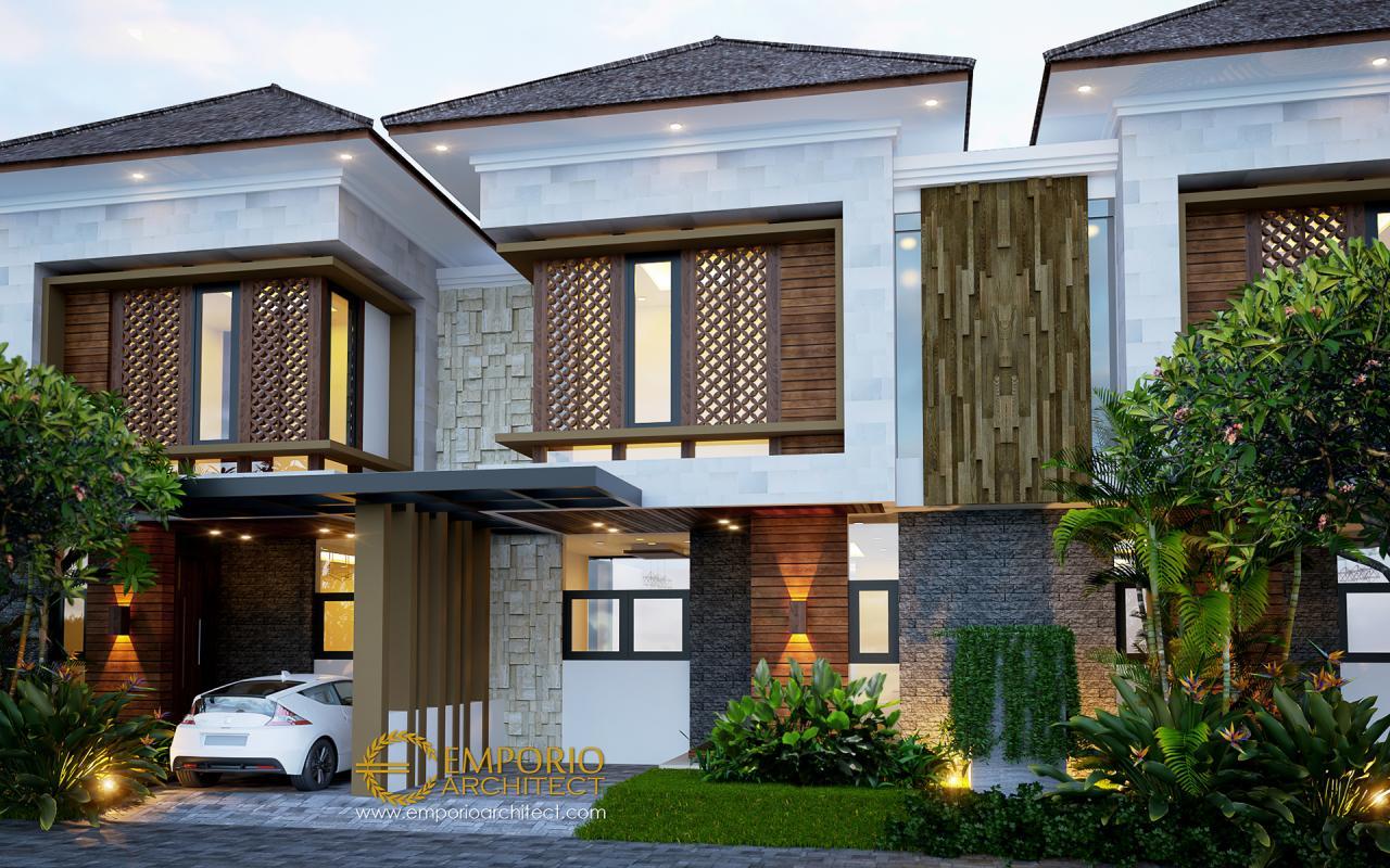 Desain Perumahan Modern 2 Lantai Arya Green Simatupang di Jakarta