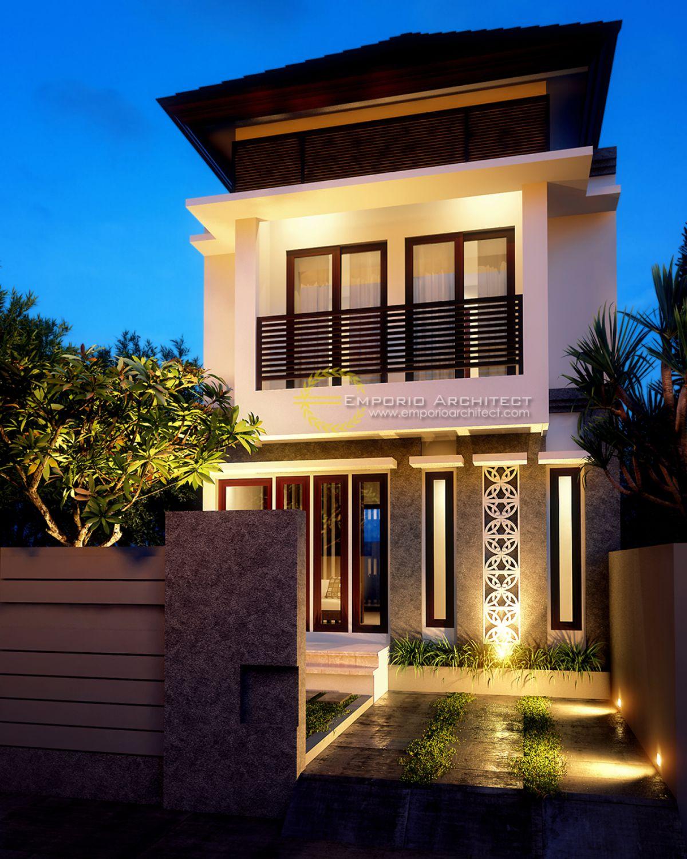 Desain Nuansa Bali Residence Style Villa Bali 1 Lantai di