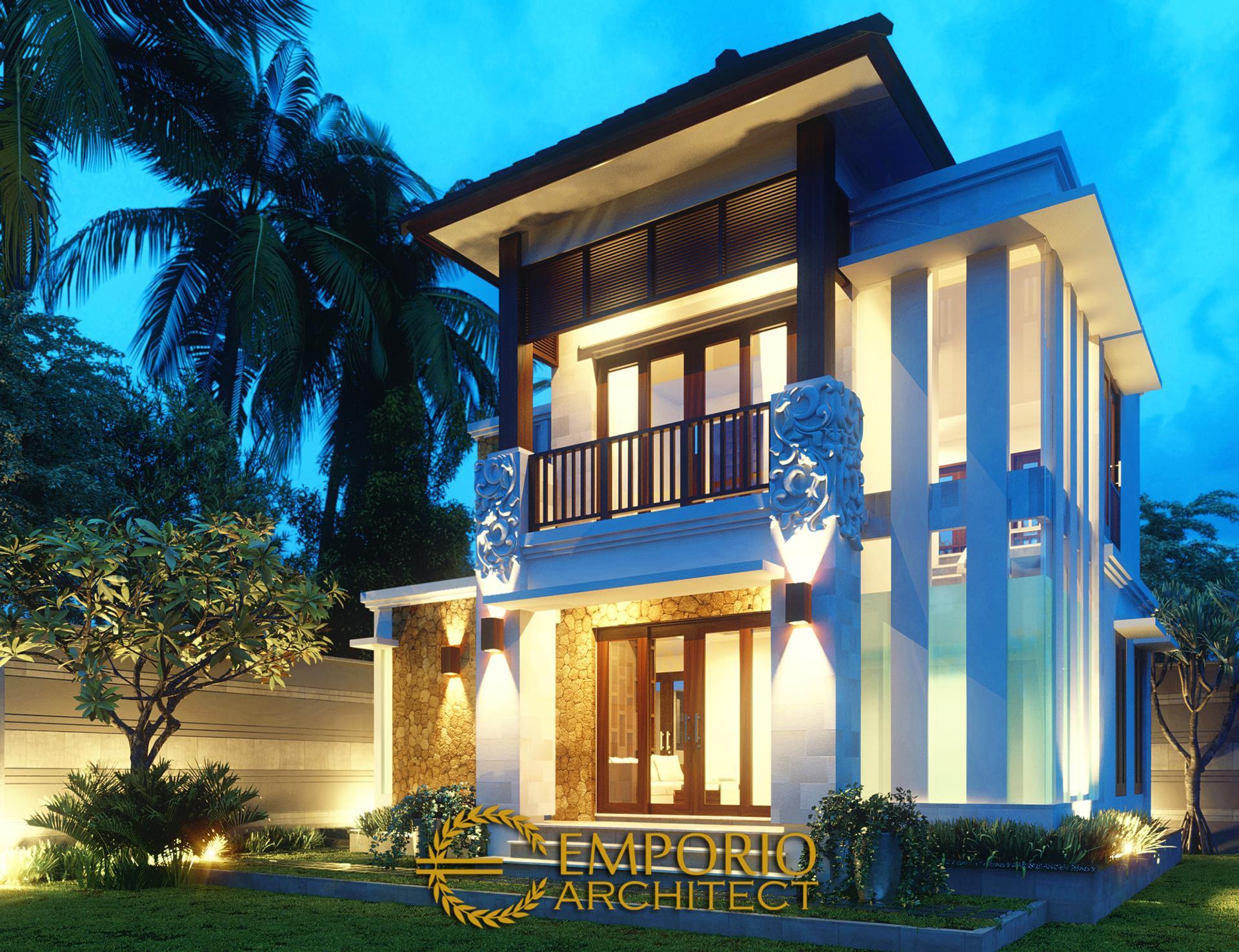 Mr. Agus Villa Bali House 2 Floors Design - Denpasar, Bali