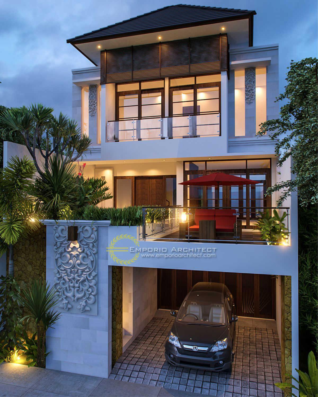 Desain Rumah Villa Bali 3 Lantai Ibu Nicola Yuniar Di Jakarta