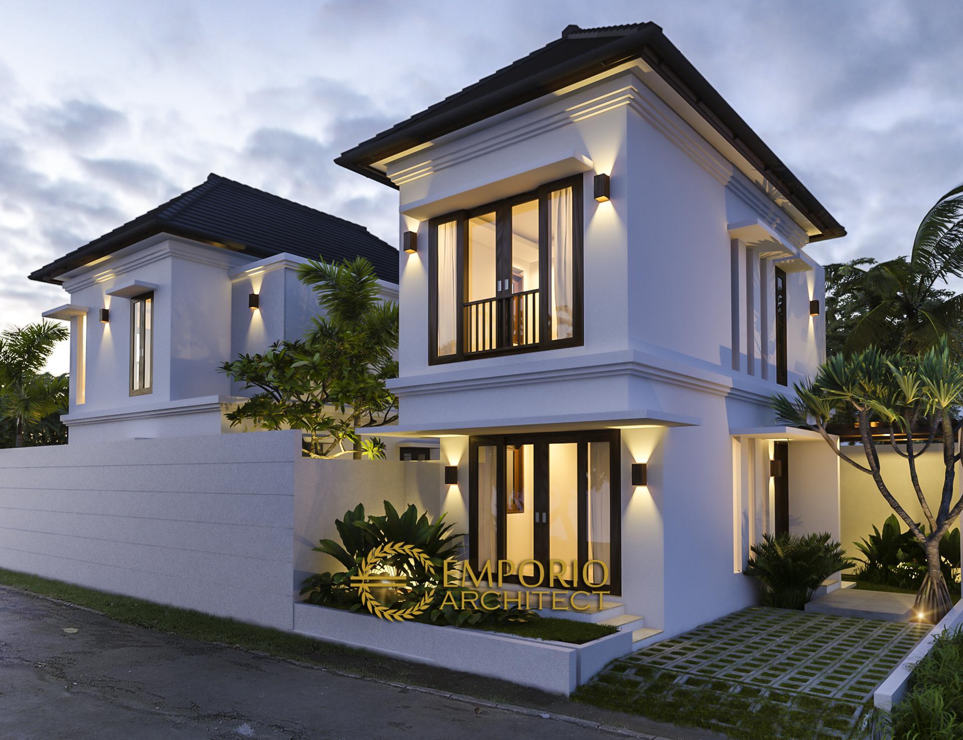 Desain Rumah Villa Bali 2 Lantai Ibu Wiwit di  Jimbaran