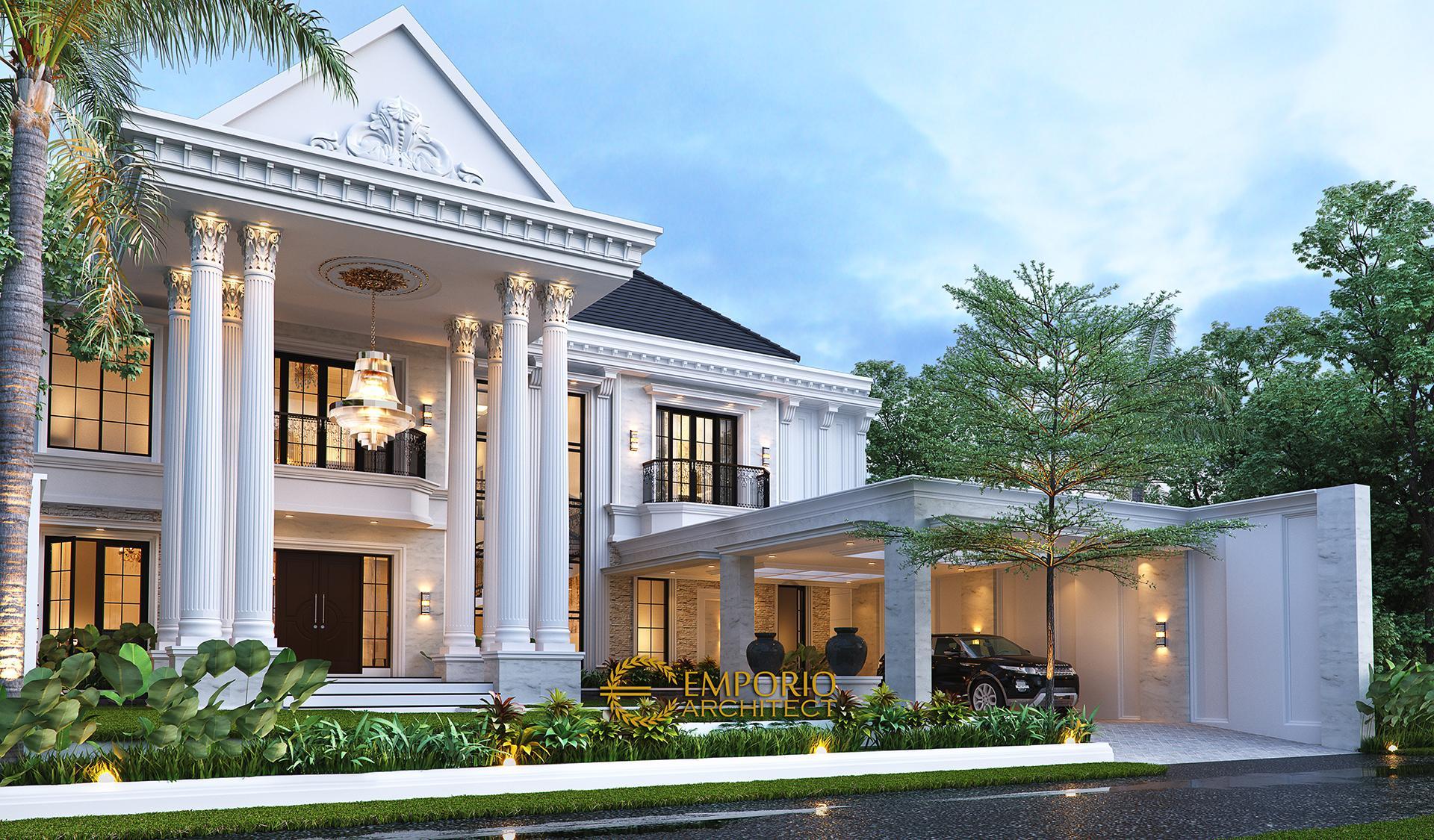 Jasa Arsitek Desain Rumah Klasik 5