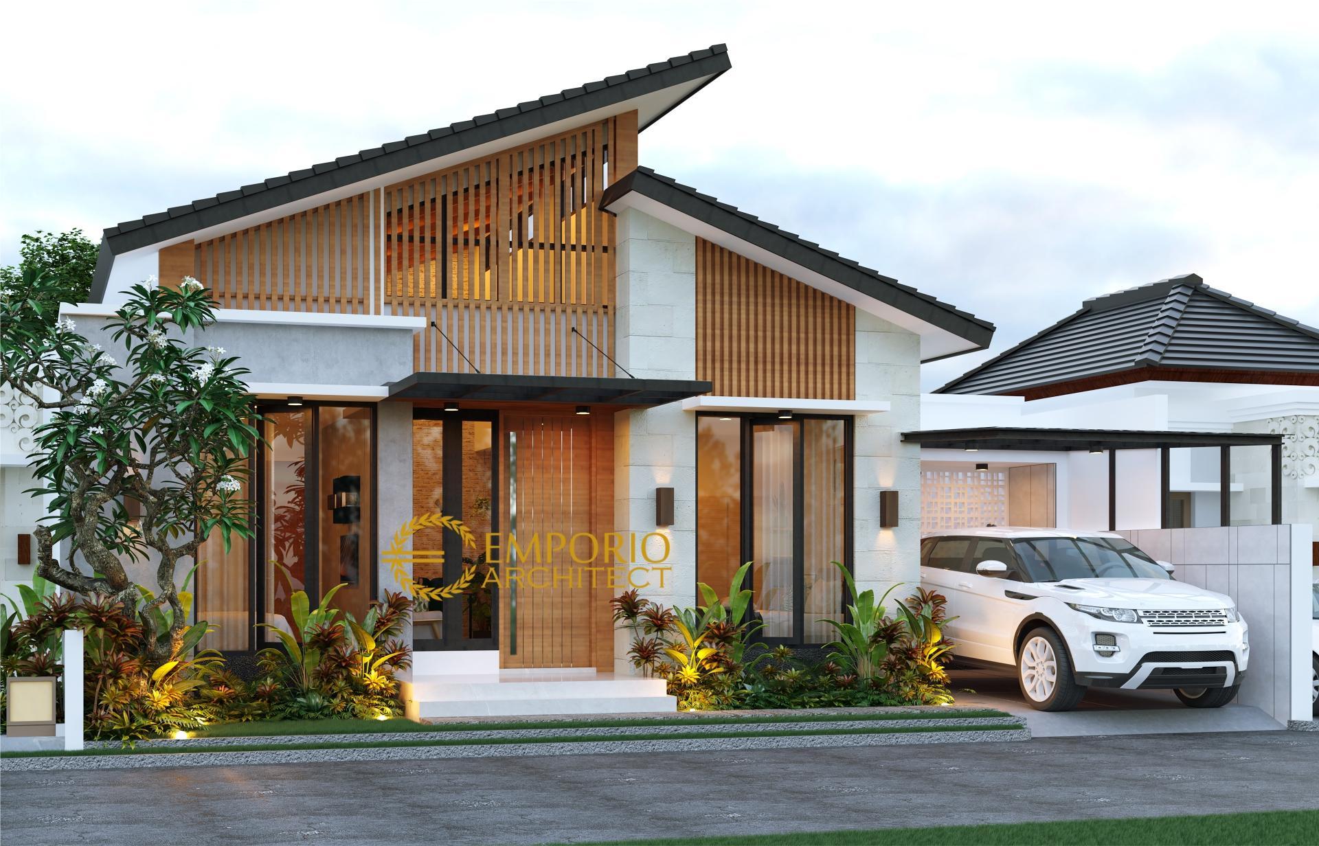 Desain Rumah Modern 1 Lantai Bapak Annas di Jepara, Jawa Tengah