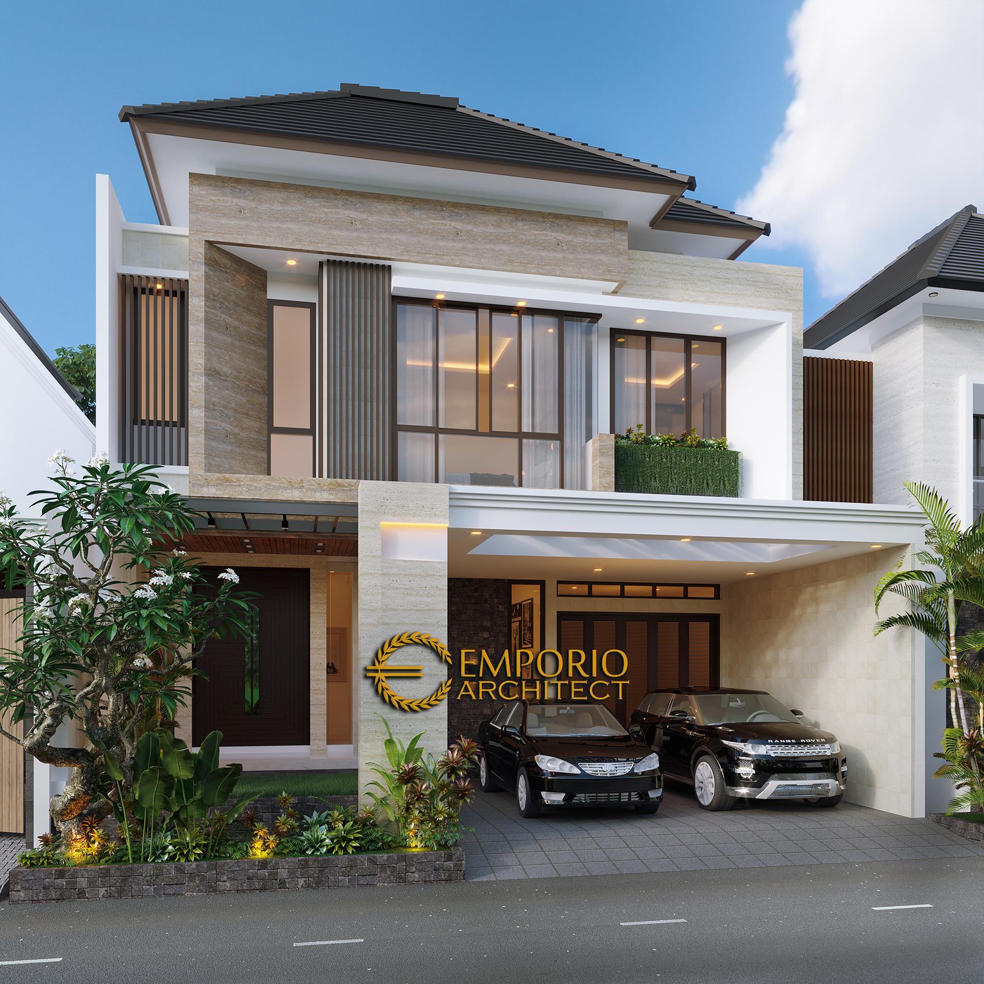 desain rumah modern 2 setengah lantai bapak didi di jakarta selatan 854341761101120023808 0