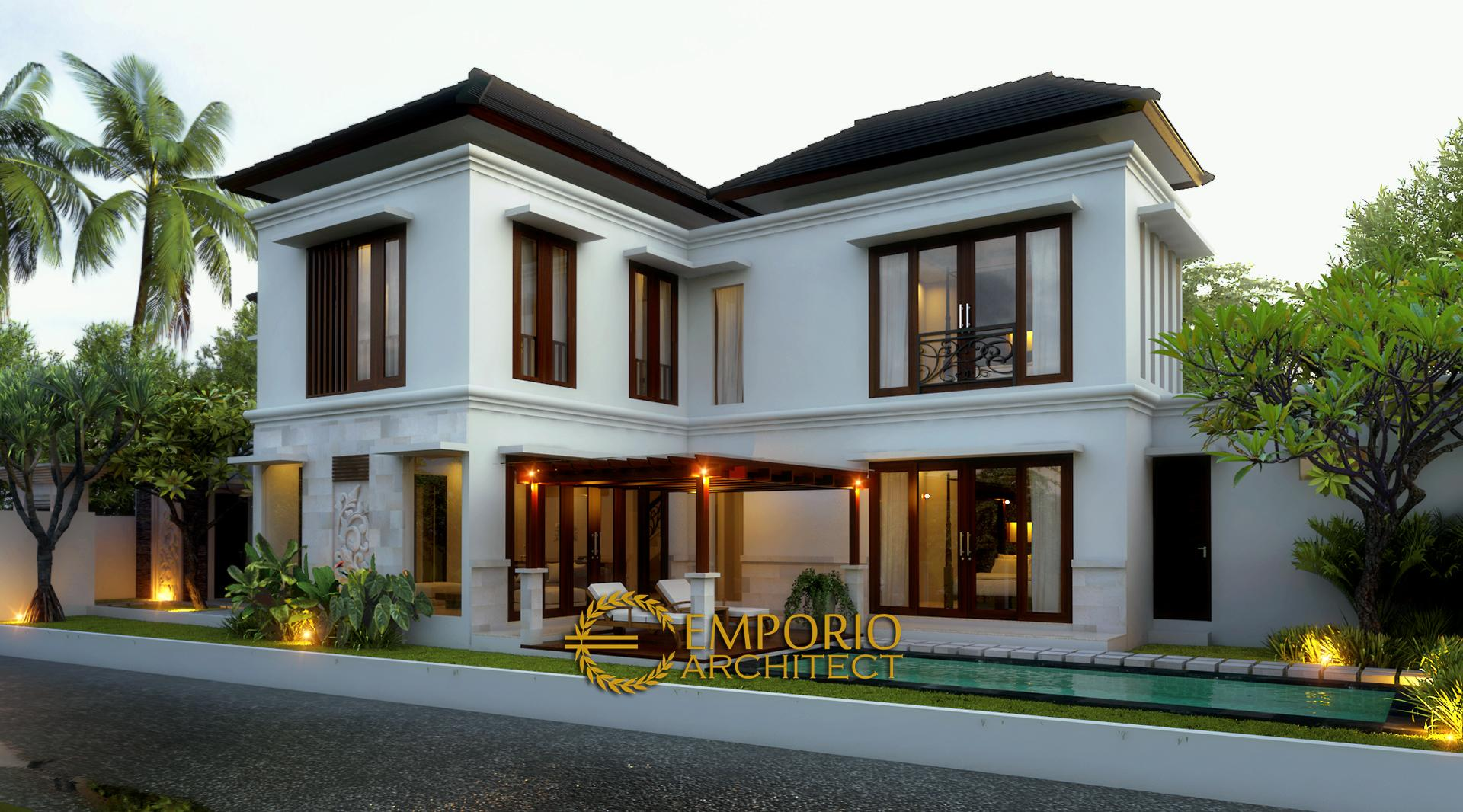 Mr. Ishak Tayeb Villa 2 Floors Design - Kerobokan, Bali