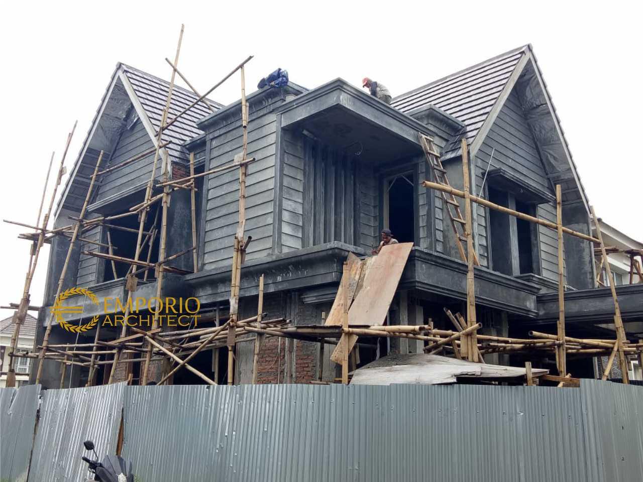 Progress Pembangunan Rumah Bapak Hakim di  Cibubur, Jakarta Timur