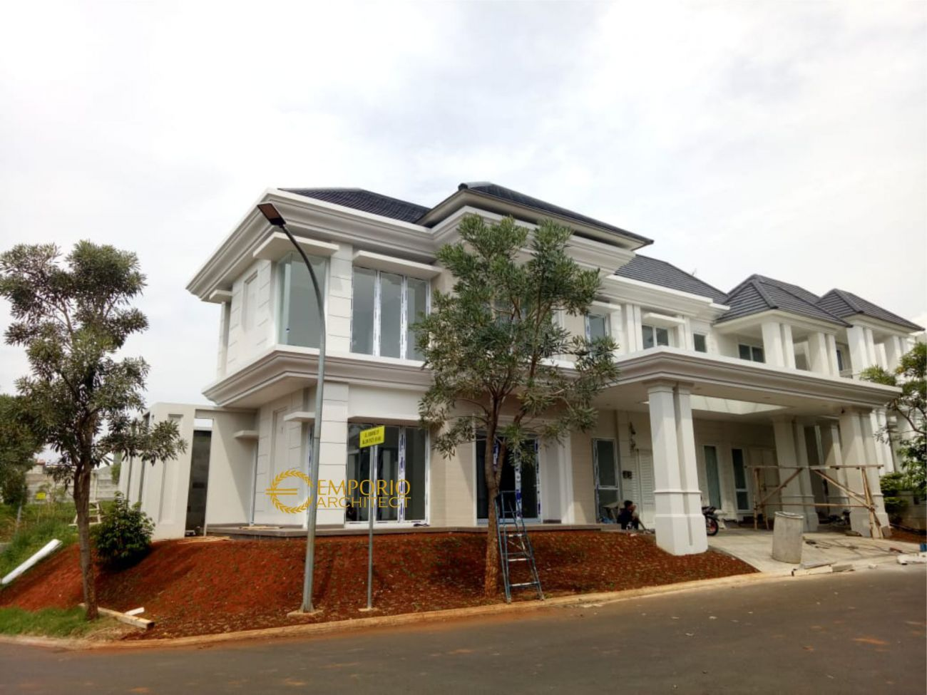 Progress Pembangunan Rumah Bapak Suherman di  Cibubur, Jakarta Timur