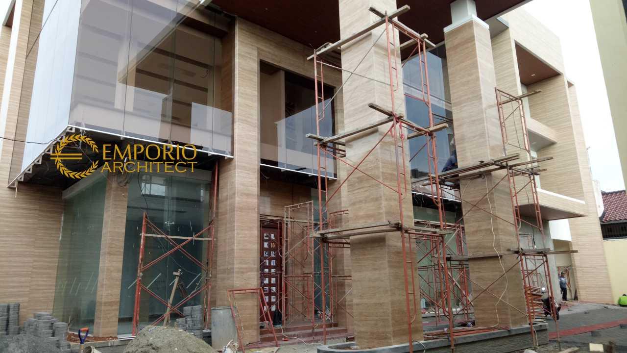 Construction Progress of Mr. Wiantono Office - Jatibening, Bekasi