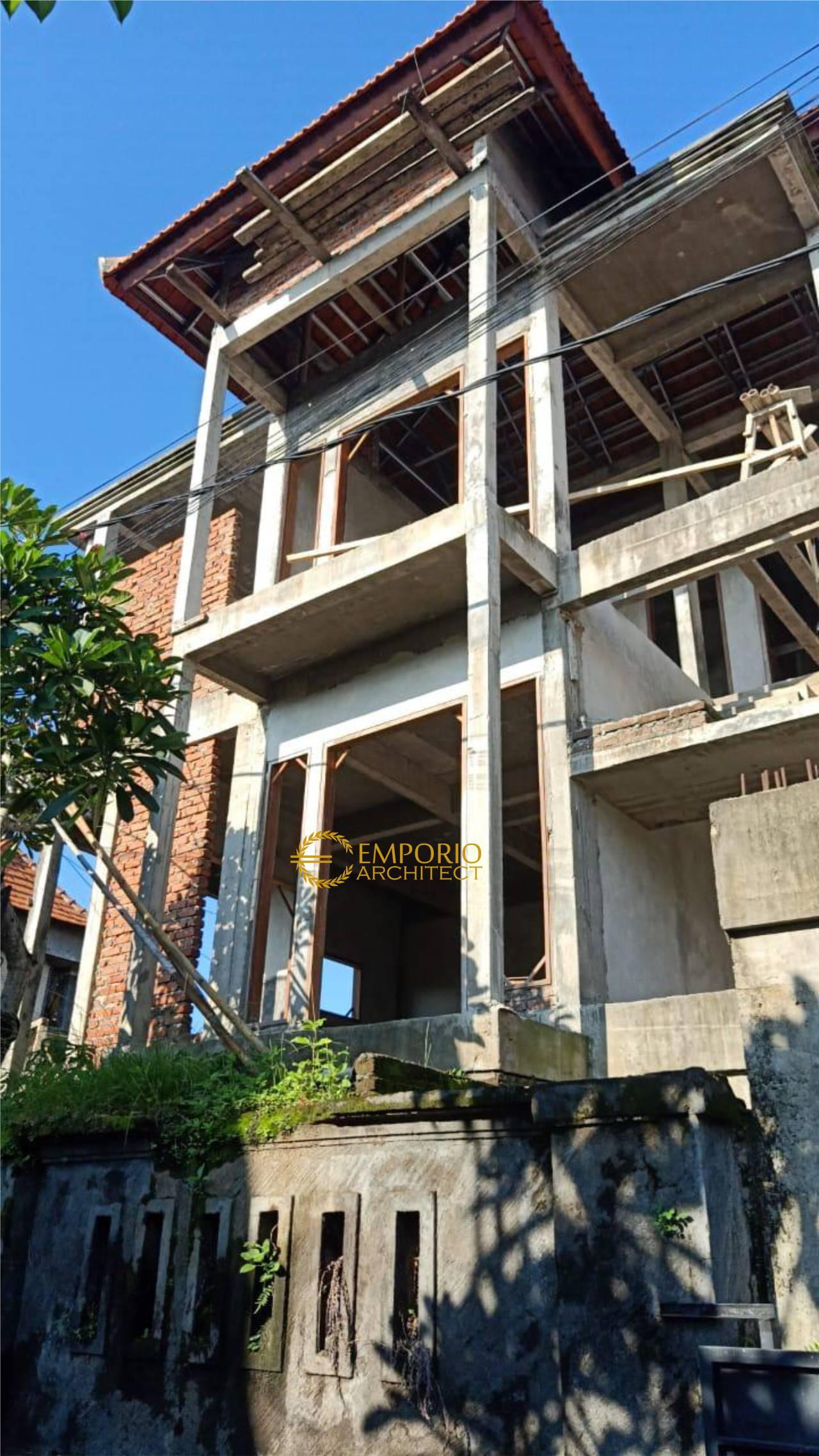 Construction Progress of Mr. Adi Private House - Tabanan, Bali