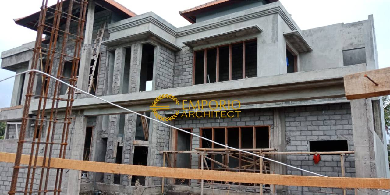 Construction Progress of Mr. Agus Eka Private House - Gianyar, Bali