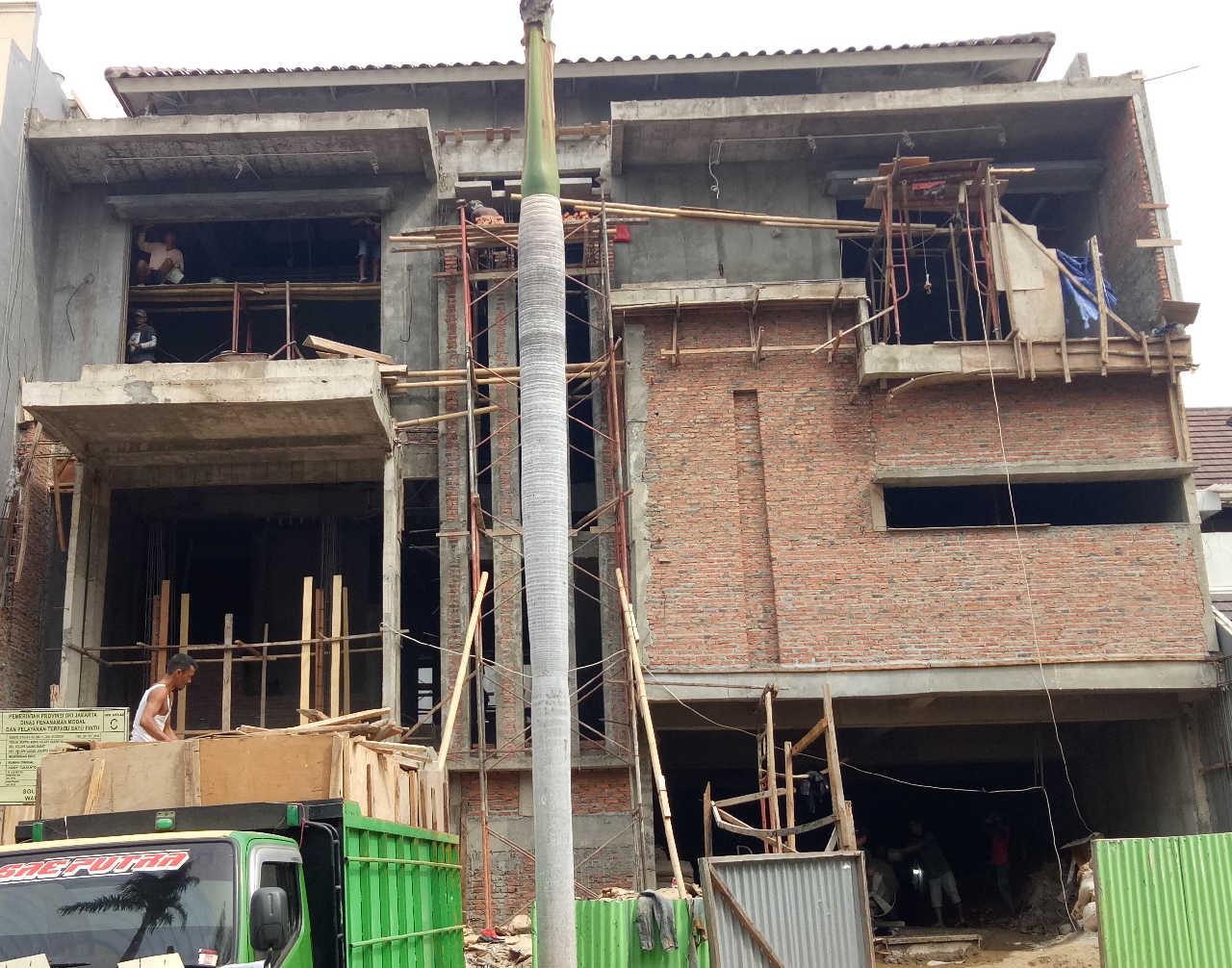 Construction Progress of Mr. Andre Private House - Kelapa Gading, Jakarta