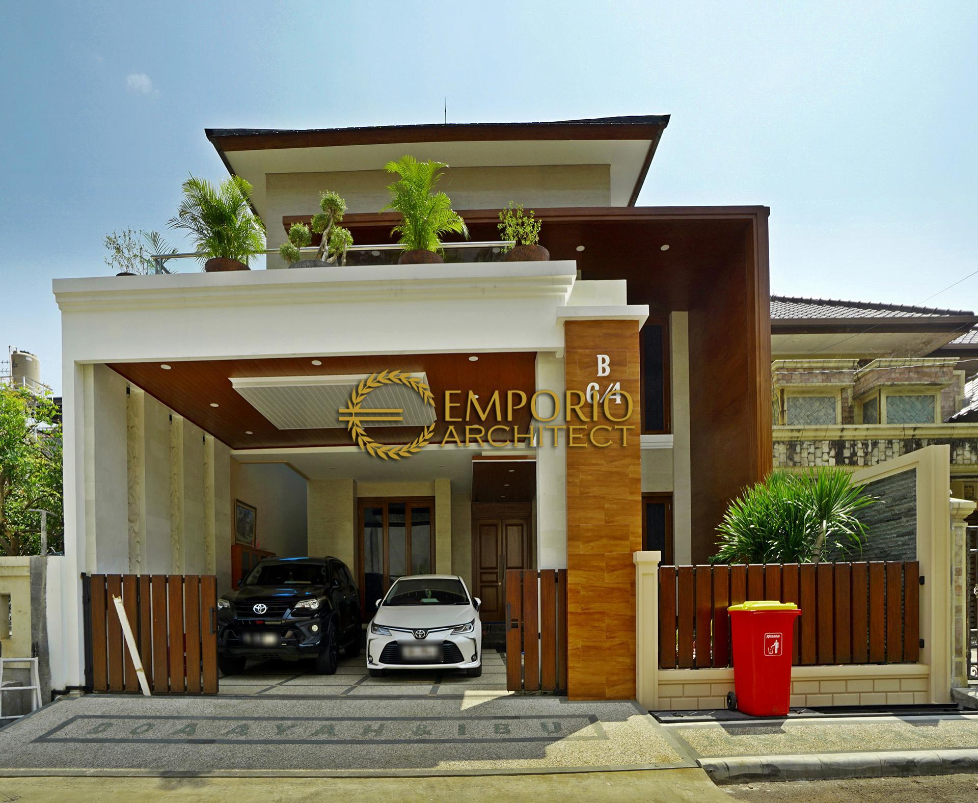 Hasil Konstruksi Rumah Bapak Anton M. Purba di  Jakarta