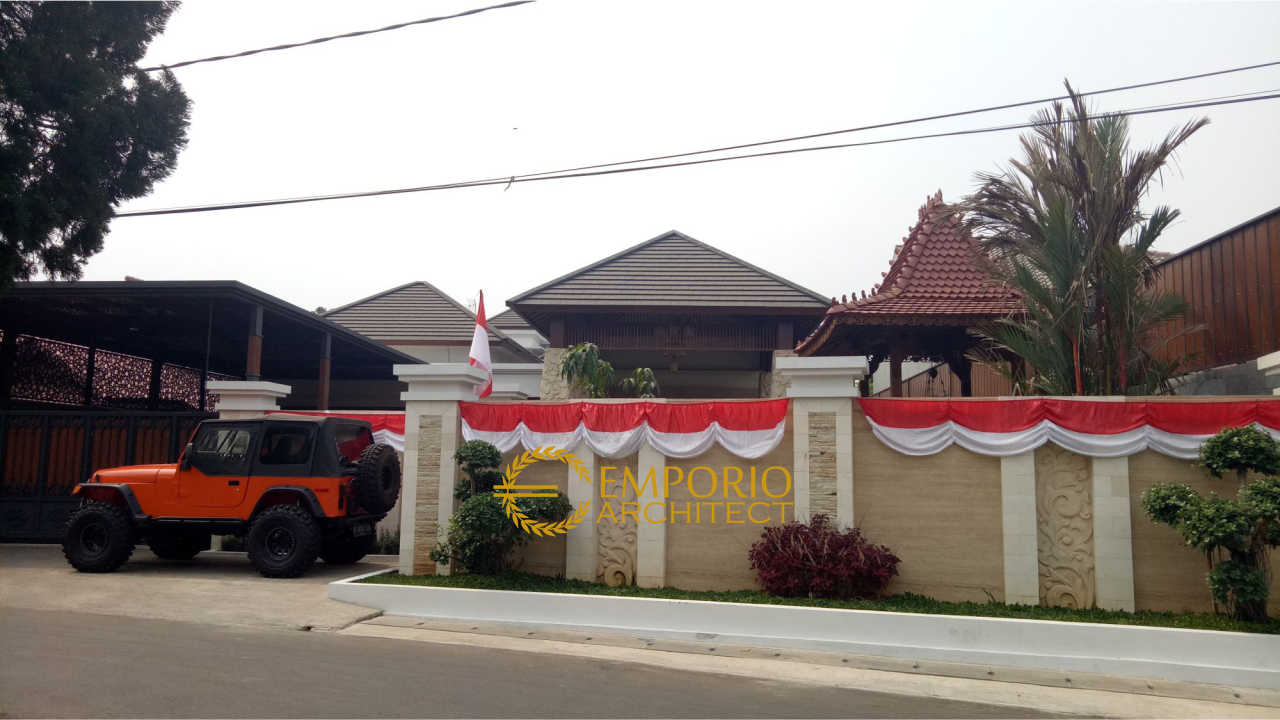 Construction Result of Mr. Bambang Private House - Jakarta