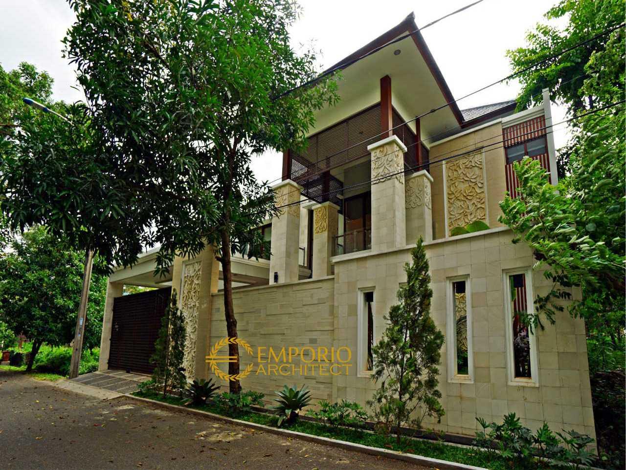 Hasil Konstruksi Rumah Bapak Edmon di  Cibubur, Jakarta Timur