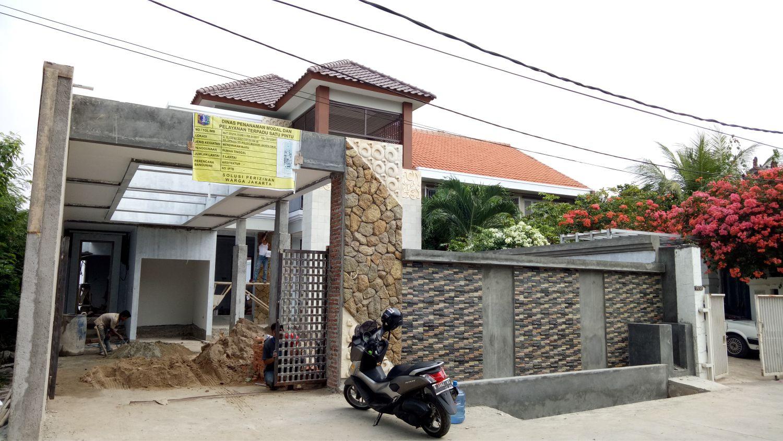 Construction Progress of Mr. Ian Private House - Jakarta