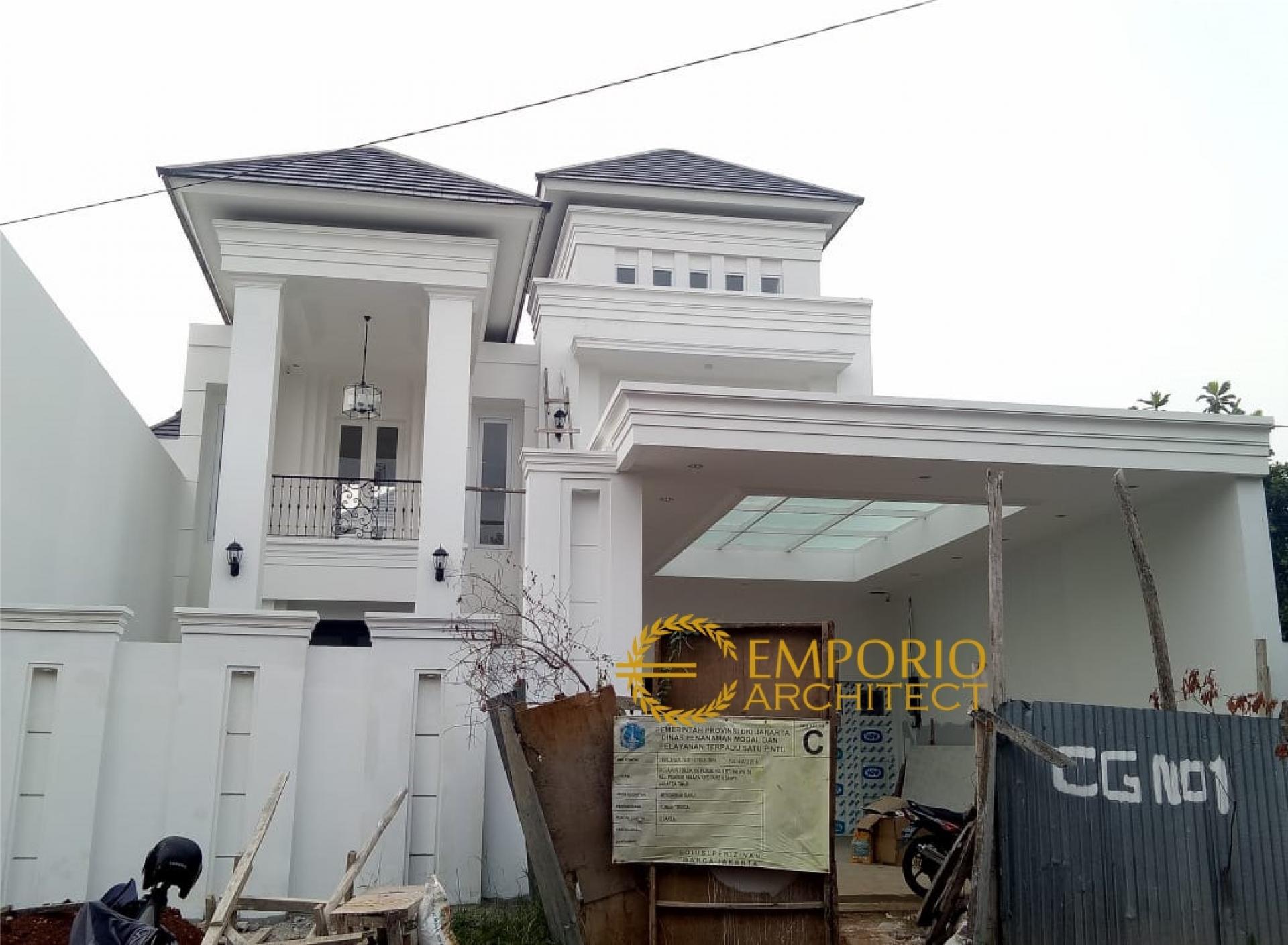 Progress Pembangunan Rumah Ibu NA di  Jakarta