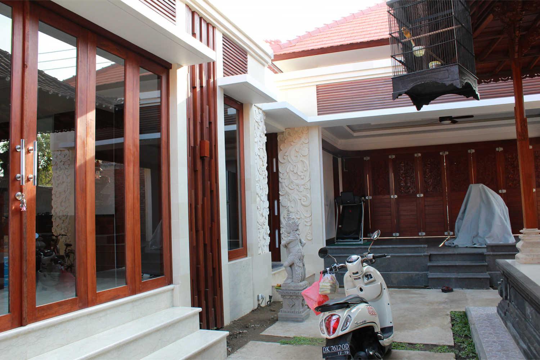 Hasil Konstruksi Rumah Bapak Komang Adi di  Kerobokan, Bali