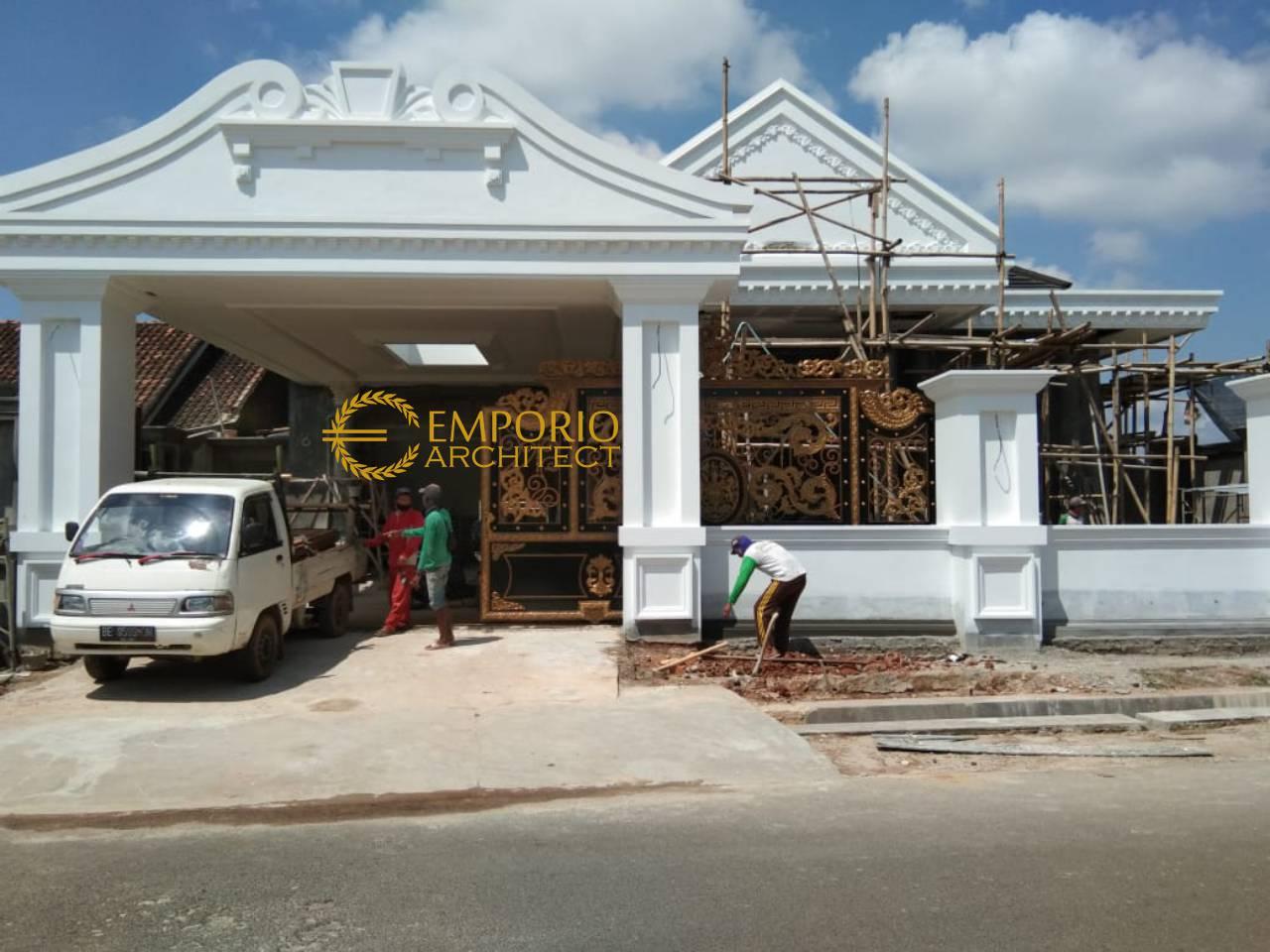 Construction Progress of Mr. Reza Private House - Lampung