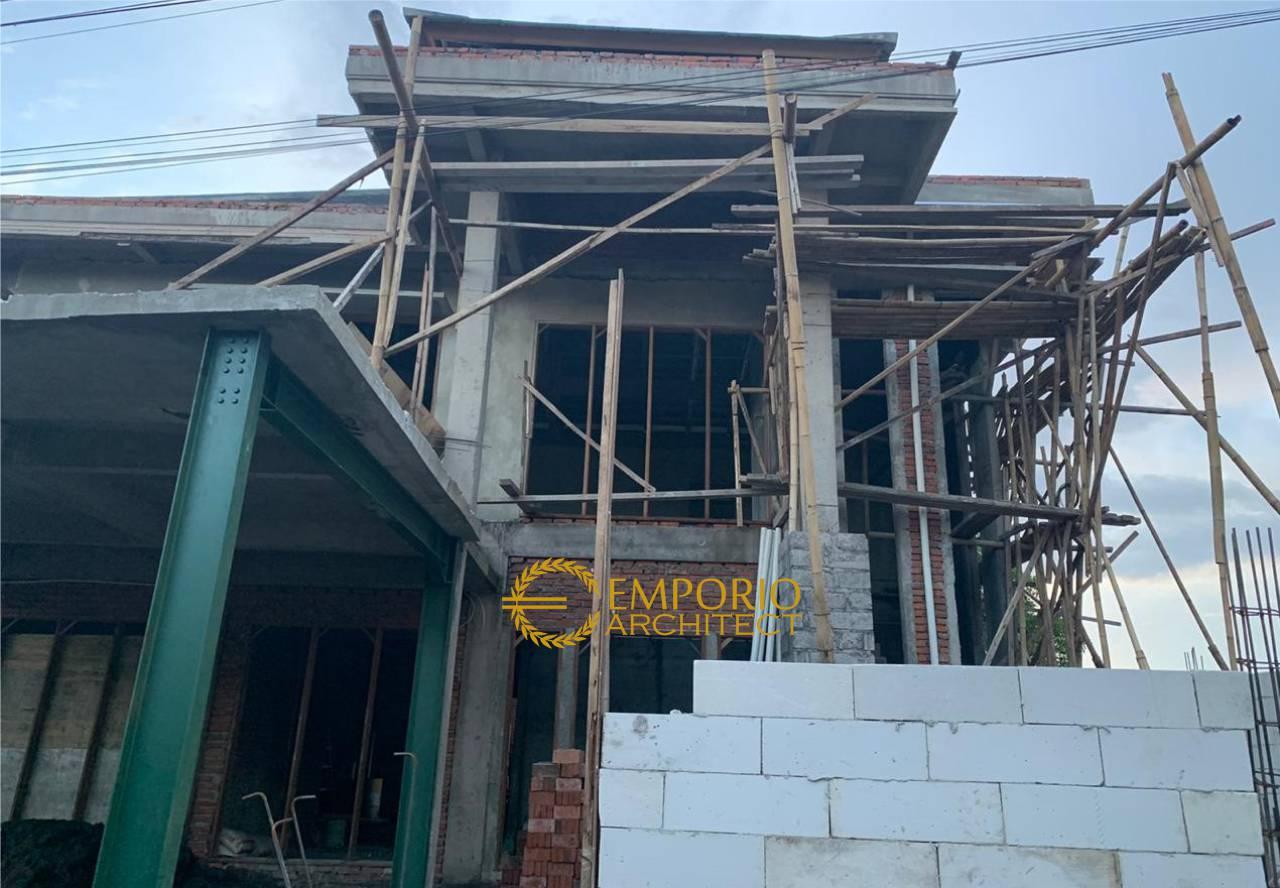 Construction Progress of Mr. Rivan Private House - Nusa Dua, Bali