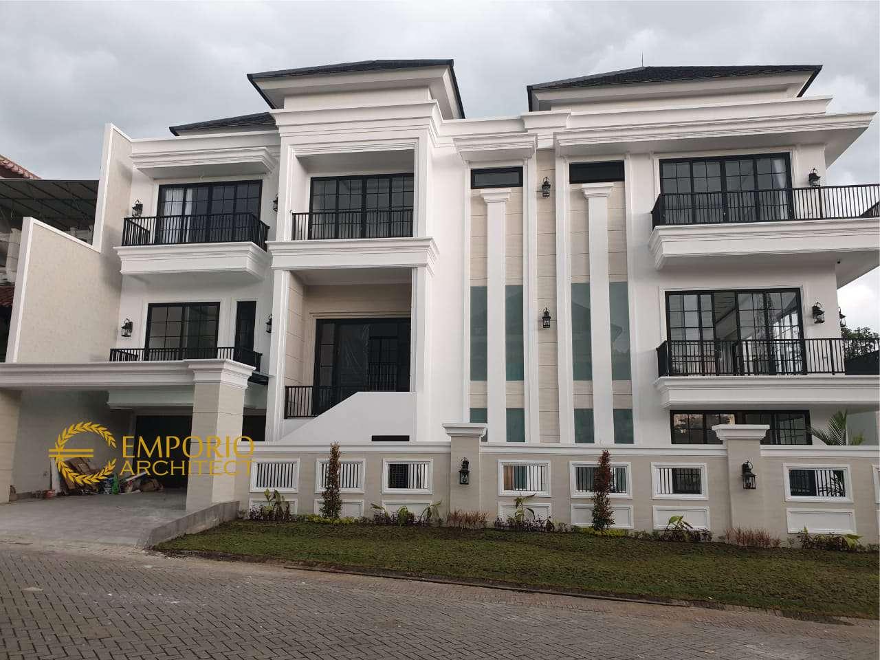 Hasil Konstruksi Rumah Ibu Chrislie di  Surabaya