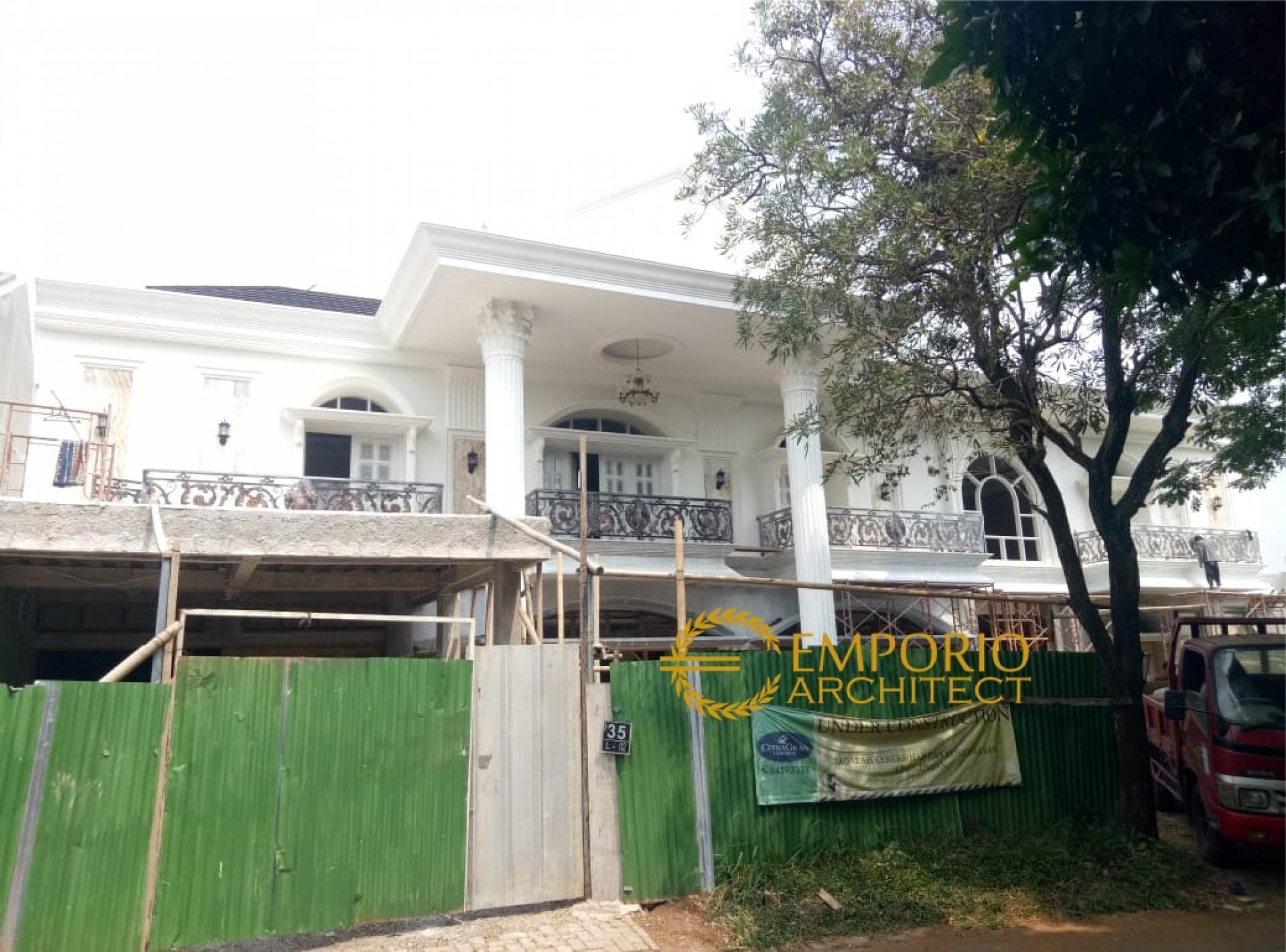 Progress Pembangunan Rumah Ibu Endang di  Cibubur, Jakarta