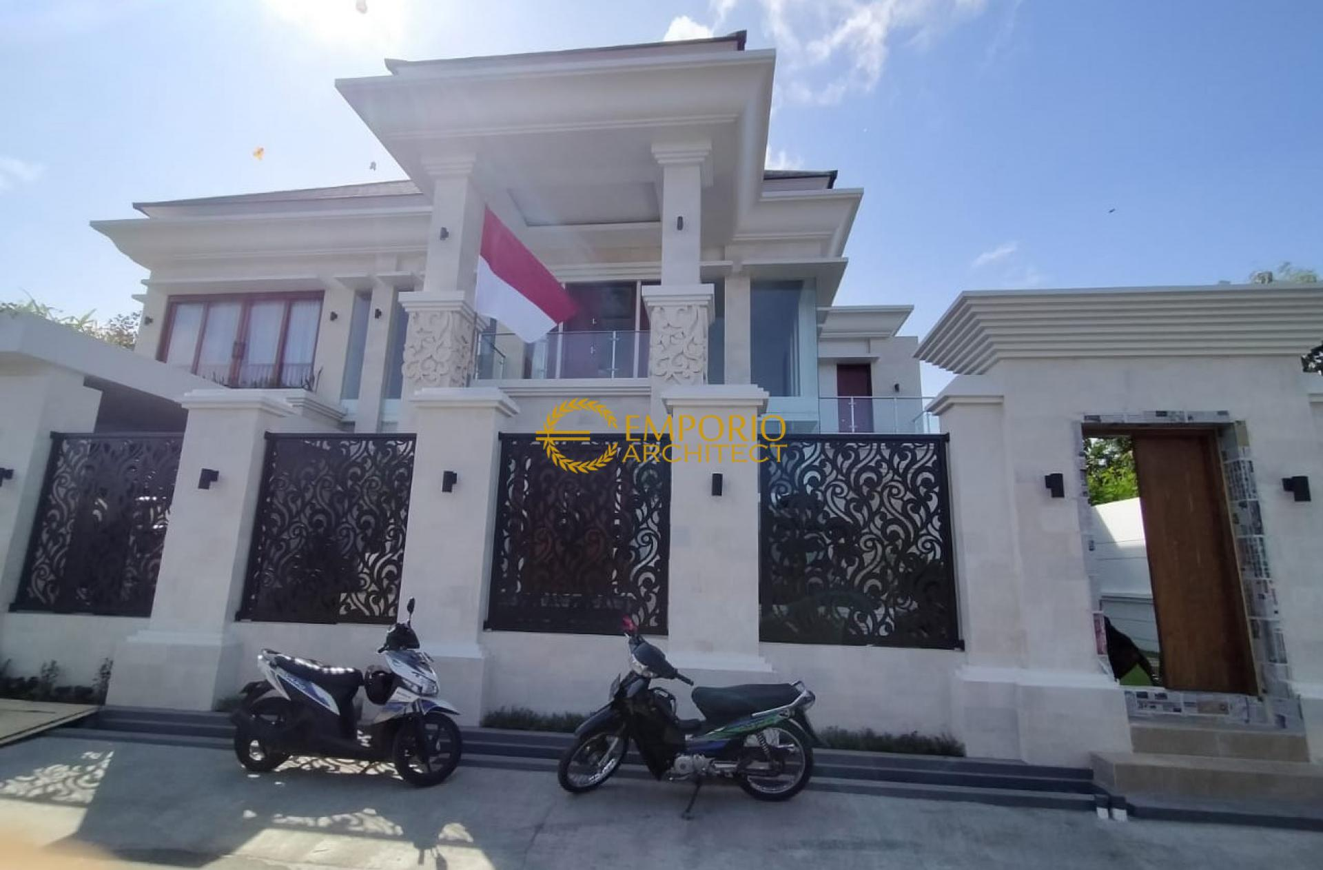 Construction Progress of Mrs. Mirah Private House Design - Denpasar, Bali