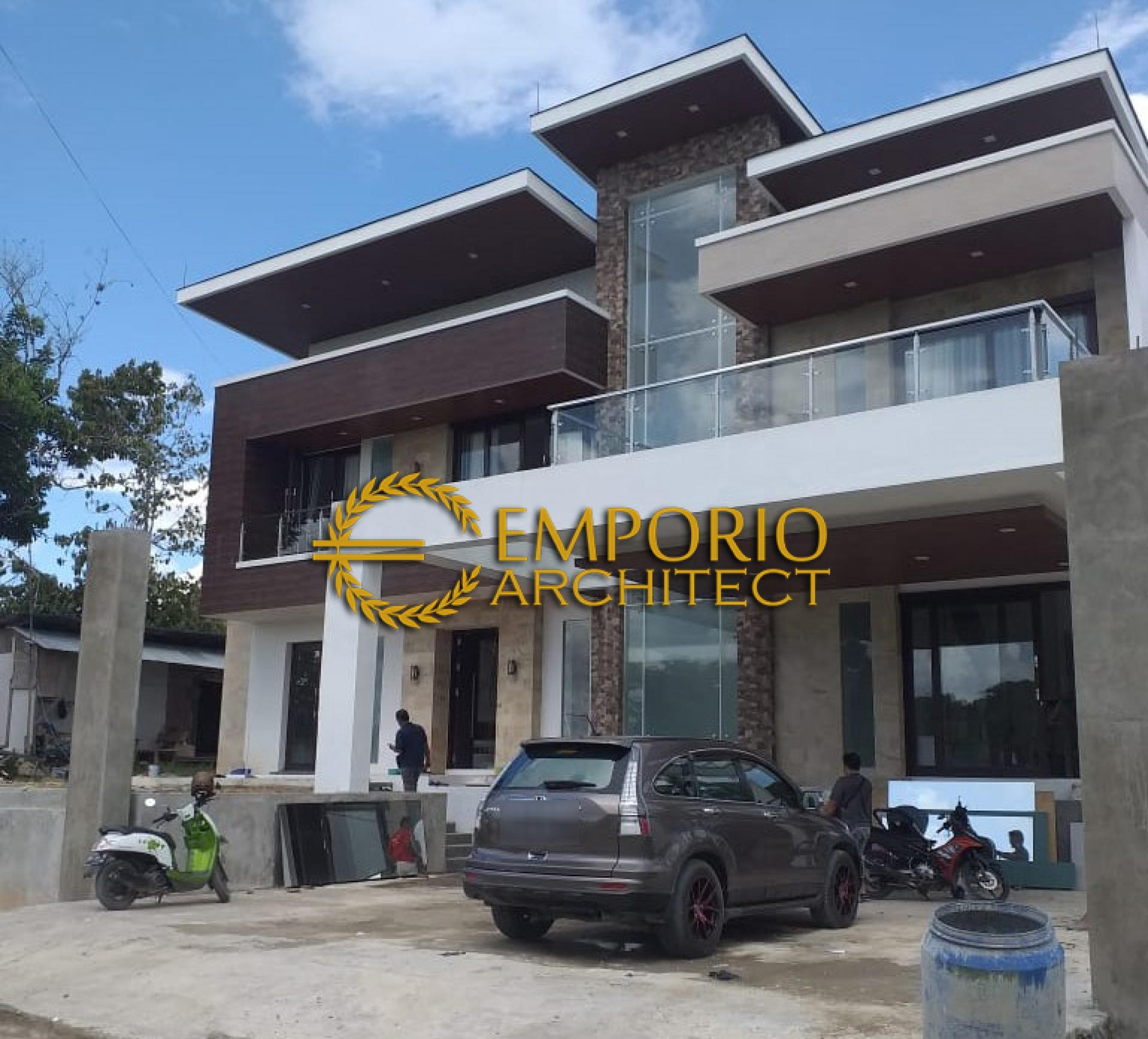 Progress Pembangunan Rumah Ibu Weni di  Tanjung Selor, Kalimantan Utara