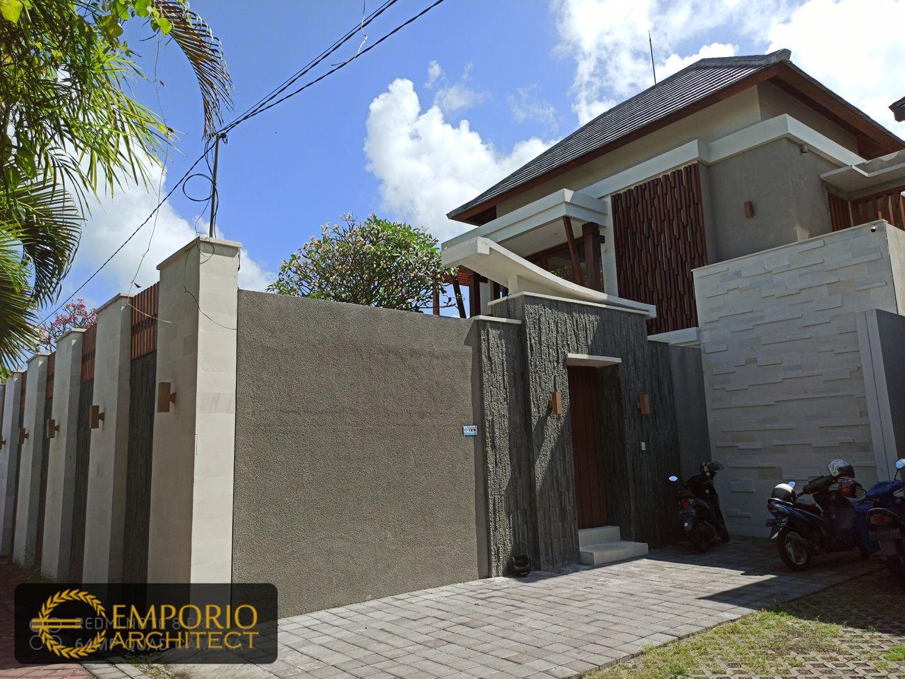 Hasil Konstruksi Villa Bapak Robert di  Seminyak, Bali
