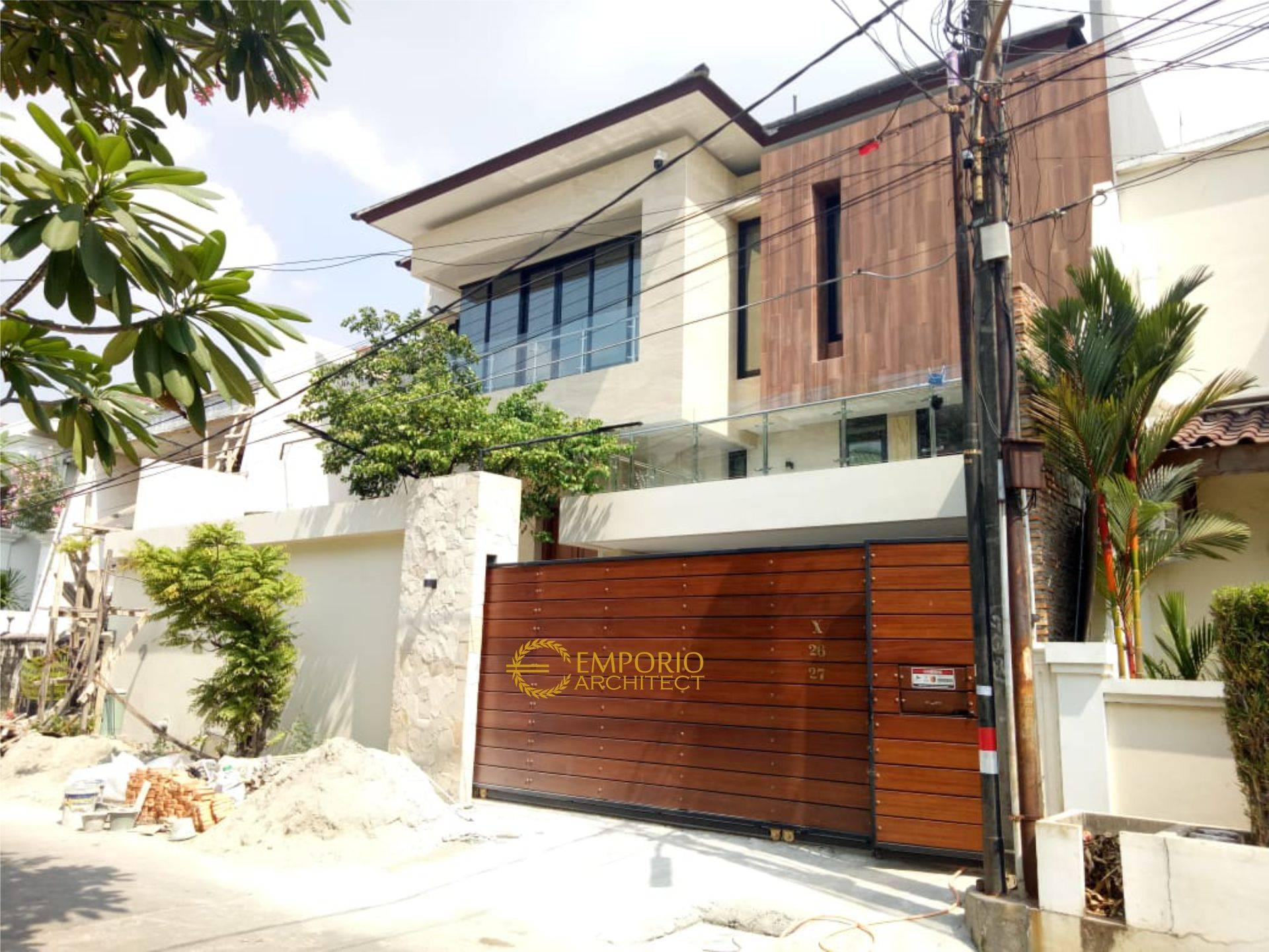 Progress Pembangunan Rumah Bapak Willy di  Jakarta Barat
