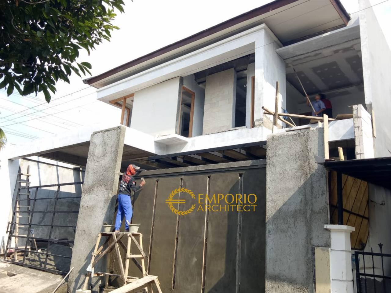 Construction Progress Of Mr Agon Private House Jakarta