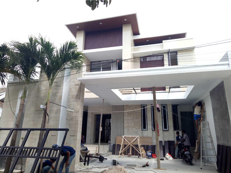 Construction Progress of Mr. Ricky Private House Design - Bekasi
