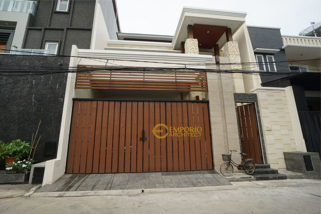 Construction Result of Mr. Rithik Private House - Jakarta