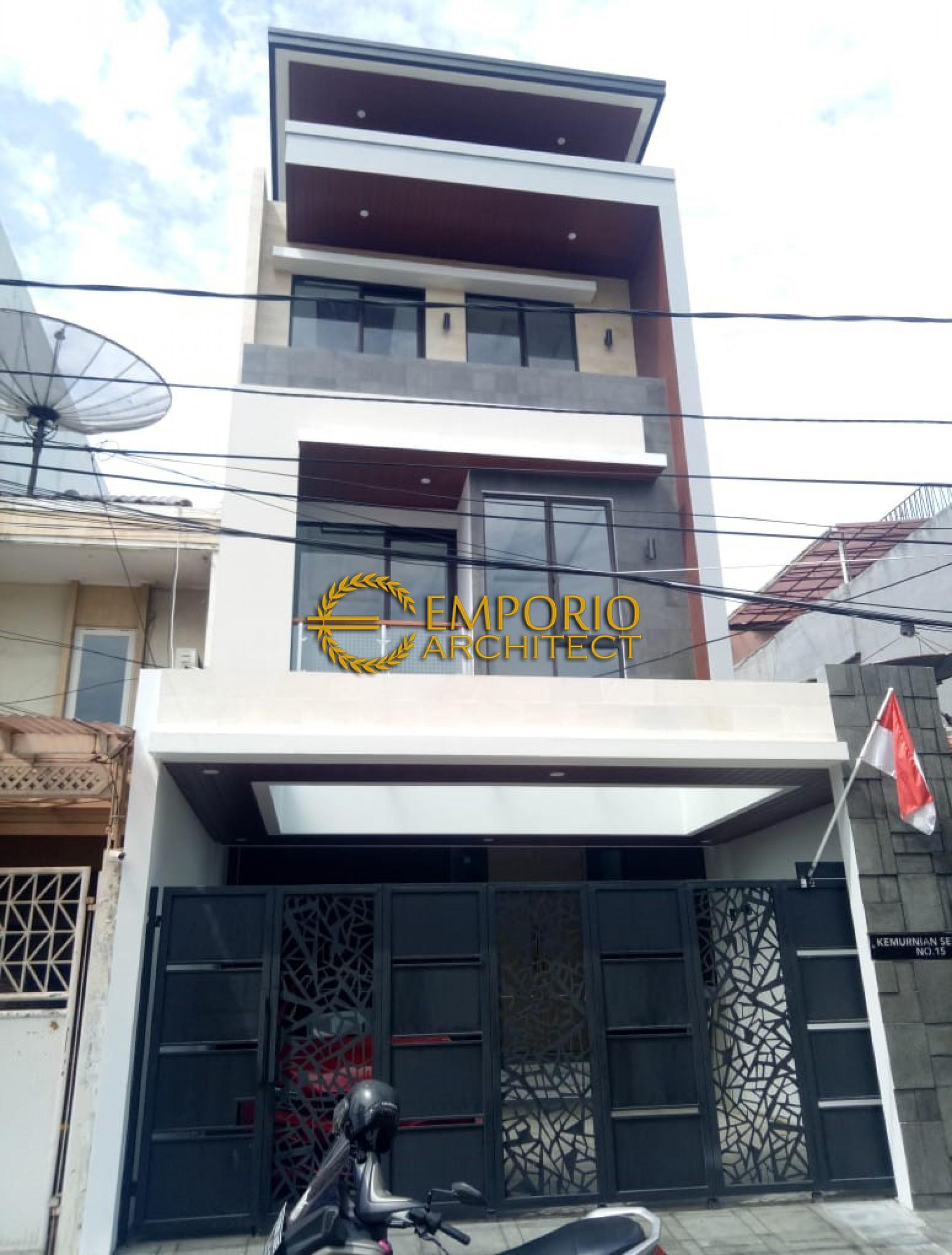 Construction Progress of Mr. Yonatan Private House - Jakarta