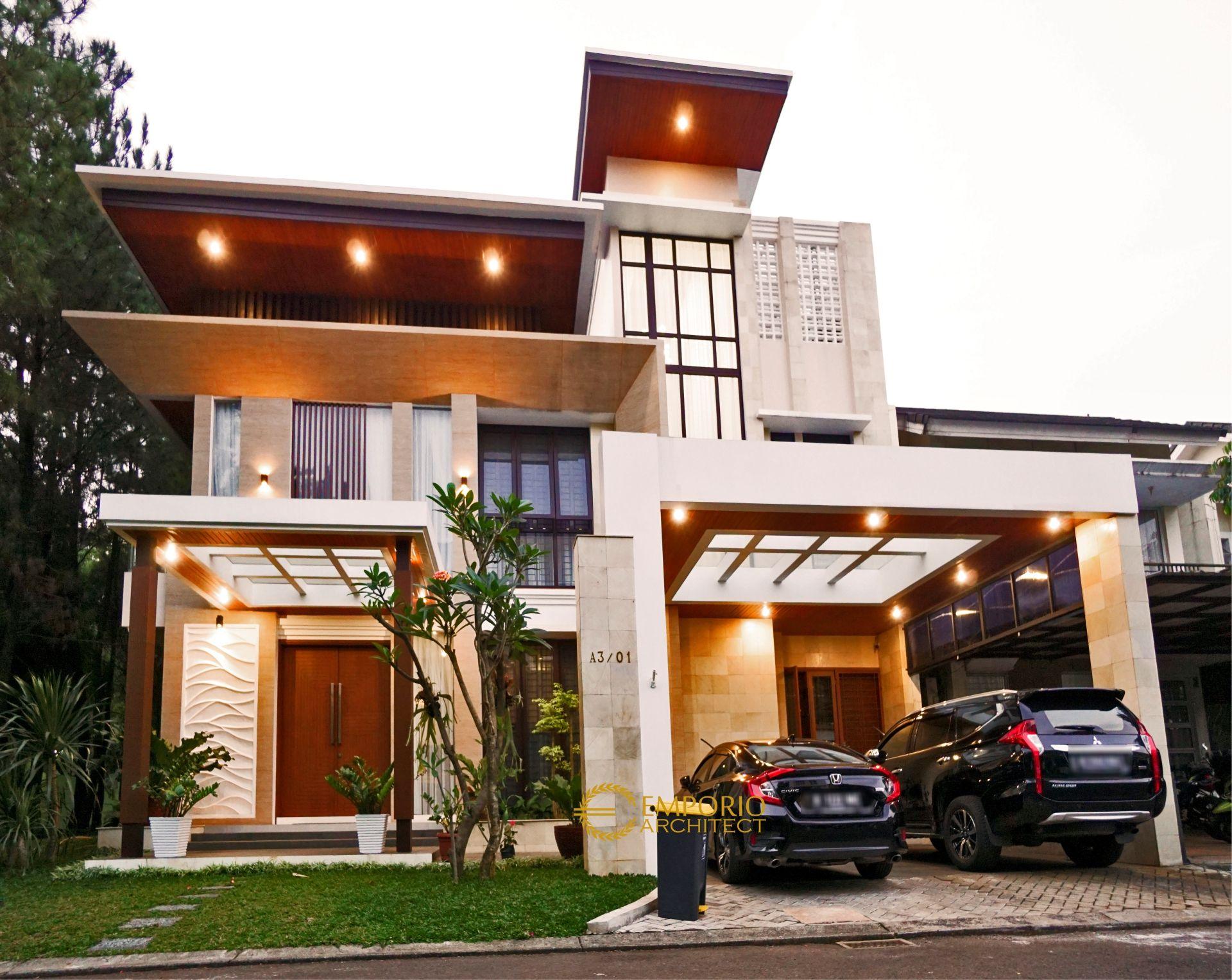Hasil Konstruksi Rumah Ibu Dina di  BSD, Tangerang