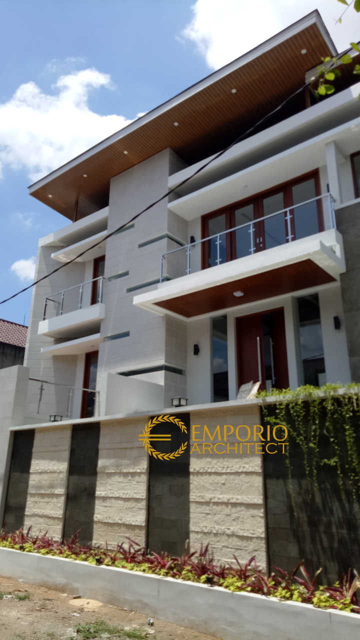 Construction Progress of Mrs. Elly Private House - Jakarta