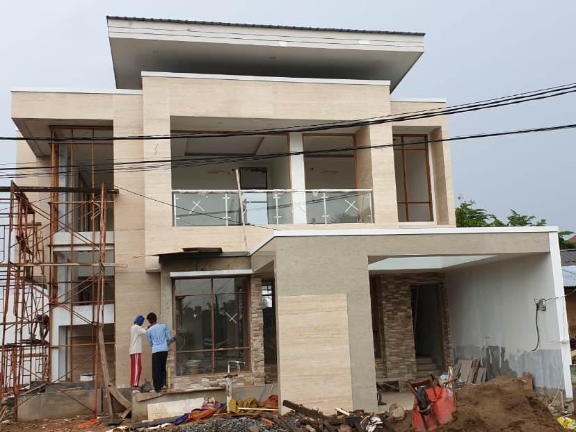 Progress Pembangunan Rumah Bapak Okov di  Palembang