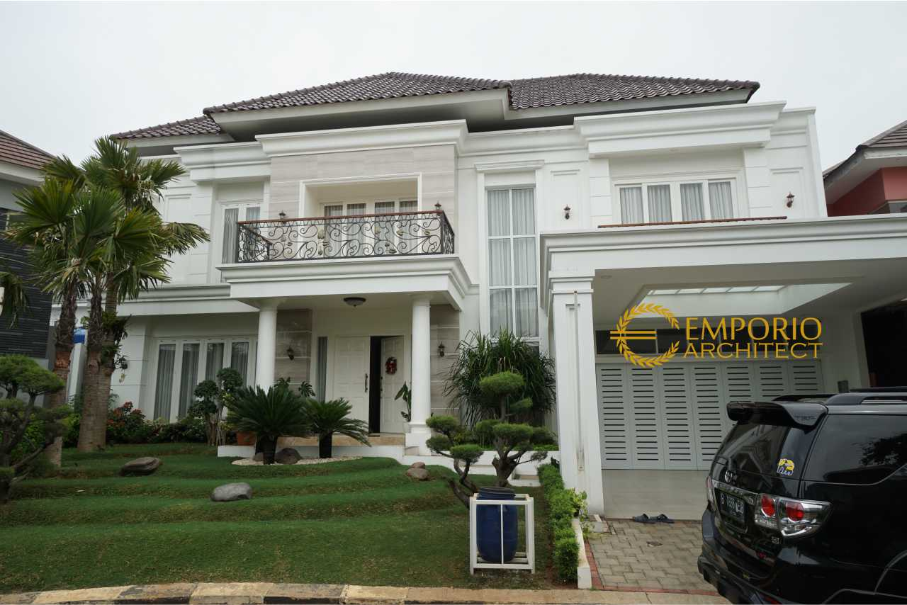 Hasil Konstruksi Rumah Bapak Yanson Hutabarat di  Cibubur, Jakarta